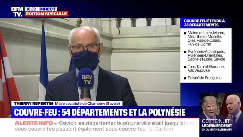 """Covid-19: selon le maire de Chambéry, """"la situation sanitaire en Savoie est malheureusement très inquiétante"""""""