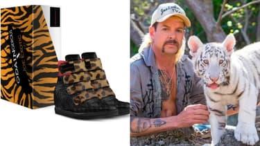 Joe Exotic a sorti une collection de sneakers