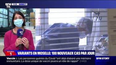 """Marie-Odile Saillard, directrice d'un centre hospitalier à Metz: """"Nous sommes pratiquement à 50% de déprogrammations"""""""