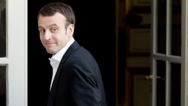 Emmanuel Macron, ministre de l'Economie et de l'Industrie, le 6 mars 2015