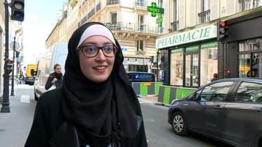 Maryam Pougetoux, le 1er mai 2018