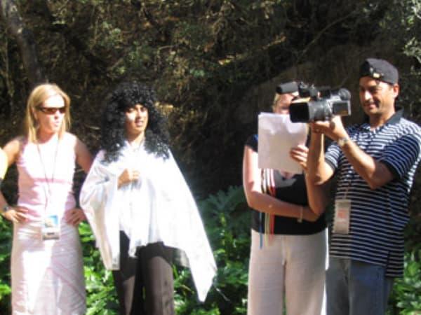 Le tournage d'un film fait partie des activités les plus plébiscitées.