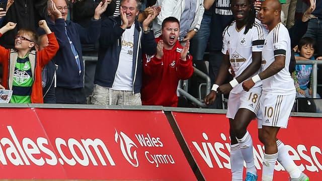 Bafé Gomis et André Ayew, encore buteurs avec Swansea