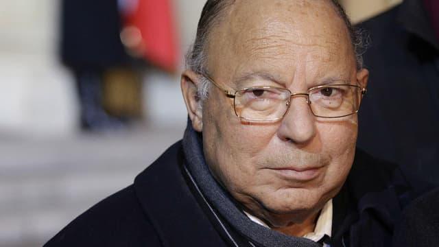 Dalil Boubakeur est le recteur de la Grande mosquée de Paris.