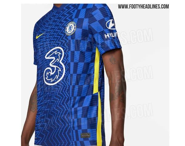 Le probable futur maillot de Chelsea selon Footy Headlines