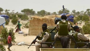Les troupes du Niger en soutien aux populations victimes du groupe jihadiste Boko Haram (Photo d'illustration) - ISSOUF SANOGO - AFP