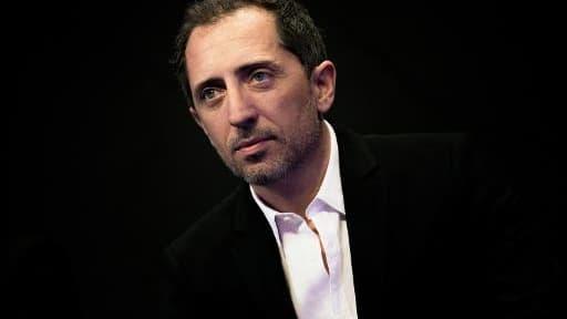 L'humoriste et acteur français Gad Elmaleh, le 17 janvier 2015 au festival du cinéma de Val Thorens