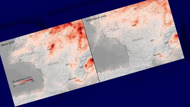 Le dioxyde d'azote en France