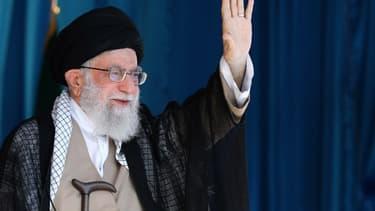L'Ayatollah Ali Khamenei, le 4 octobre.