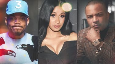 Chance the rapper, Cardi B et TI