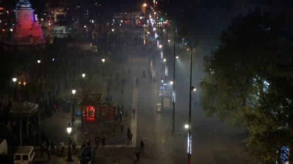 Des scènes de guérilla urbaine se déroulent sous les yeux des riverains