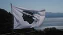 La tête de Maure, drapeau de la Corse.
