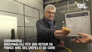 Coronavirus : Groupama-FDJ fête son retour en France avec des crêpes et du cidre