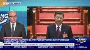 """Benaouda Abdeddaïm: Chine, encore """"au moins 30 ans"""" pour devenir la superpuissance industrielle de pointe - 08/03"""