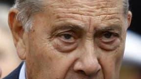 La Cour de justice de la République a condamné le sénateur UMP Charles Pasqua à un an de prison avec sursis, le reconnaissant coupable de complicité d'abus de biens sociaux et de complicité de recel dans l'affaire de la société d'exportation Sofremi. /Pho