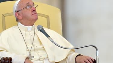 Le pape François au Vatican - Illustration Vincenzo Pinto - AFP