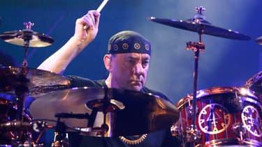 Neil Peart en octobre 2012