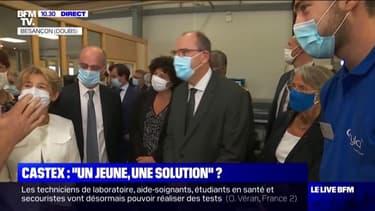 Emploi des jeunes: Jean Castex en visite dans un centre de formation d'apprentis et une PME à Besançon