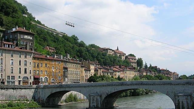 Le Pont Marius Gontard, à Grenoble