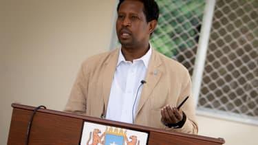 Abdirahman Omar Osman, le maire de Mogadiscio
