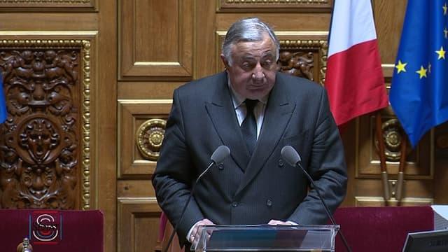 Gérard Larcher, le président du Sénat.