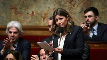 Yaël Braun-Pivet à l'Assemblée nationale en mars 2019