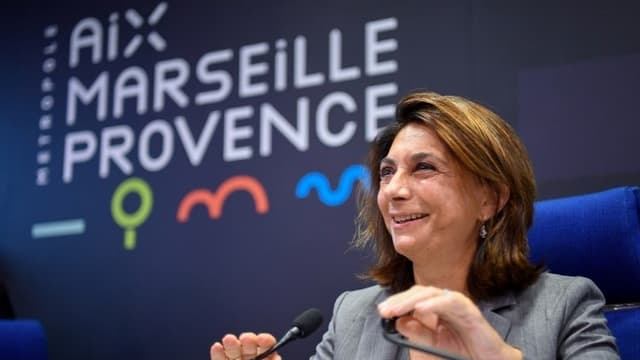 La présidente LR du département des Bouches-du-Rhône, Martine Vassal.
