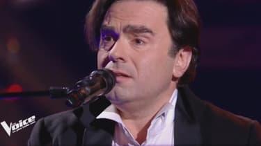 """Frédéric Longbois, candidat à """"The Voice"""" sur TF1, le 3 février 2018."""