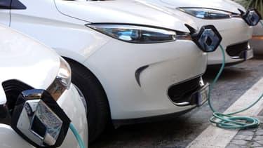 Renault proposera des Zoé (électrique) pour des locations à l'heure ou à la journée.