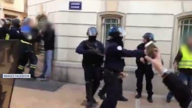 Extrait de la vidéo montrant Didier Andrieux.