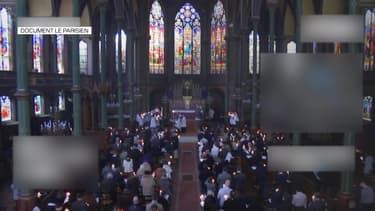 Une messe célébrée à Paris au cours du week-end de Pâques, sans respect des gestes barrières, suscite la polémique