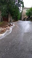 Inondations dans les rues de Laval-Saint-Roman, dans le Gard - Témoins BFMTV