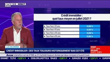 Philippe Taboret (CAFPI) : Crédit immobilier, des taux toujours historiquement bas cet été - 29/07