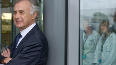 Philippe Petitcolin était l'invité de BFM Business, mardi 4 octobre.