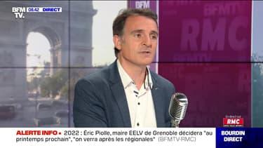 Éric Piolle face à Jean-Jacques Bourdin en direct  - 22/09