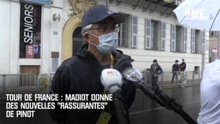 Tour de France : Madiot donne des nouvelles (rassurantes) de Pinot