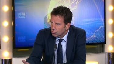 Geoffroy Roux de Bézieux était l'invité de BFM Business