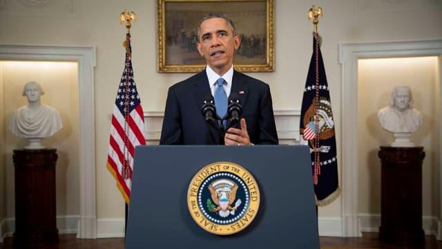 Le président Barack Obama a prononcé un discours historique sur Cuba, le 17 décembre.