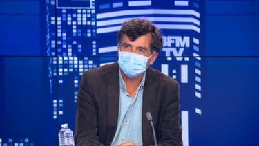 Le professeur Arnaud Fontanet sur BFMTV ce mercredi soir.