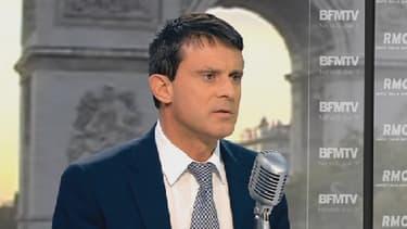 Manuel Valls était l'invité de Jean-Jacques Bourdin.