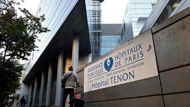 L'hôpital Tenon, le 23 septembre 2021 à Paris