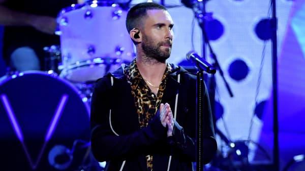 Adam Levine, leader de Maroon 5, en mars 2018