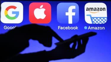 Les géants du numérique sont souvent mentionnés sous l'acronyme Gafa, qui rassemble: Google, Amazon, Facebook et Apple.