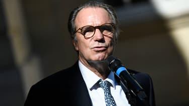 Renaud Muselier s'adresse à la presse après une réunion à Matignon, le 30 juillet 2020