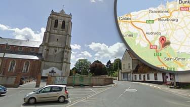 La collision a eu lieu à Eperlecques près de Saint-Omer dans le Pas-de-Calais.