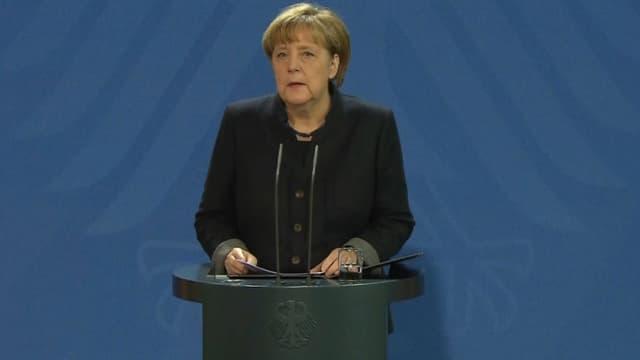 Angela Merkel, le 20 décembre 2016.