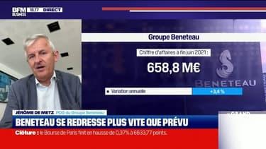 Jérôme de Metz (Groupe Beneteau) : Beneteau se redresse plus vite que prévu - 29/07