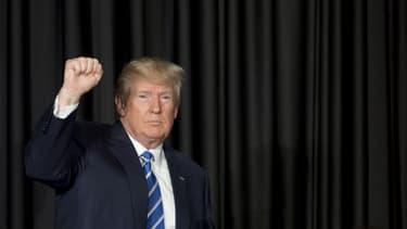 Donald Trump, en février 2017.