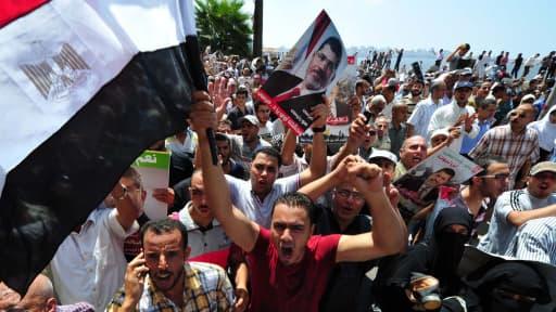 Après des manifestations sanglantes, les Frères musulmans peinent à rassembler.