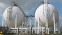 27.500 mètres cubes d'éthane liquéfié viennent d'arriver à Grangemouth, une raffinerie de la société Ineos située près d'Edimbourg.